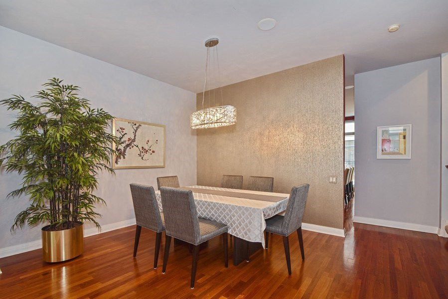Real Estate Photography - 1816 S Indiana, Unit F, Chicago, IL, 60616 - Dining Room