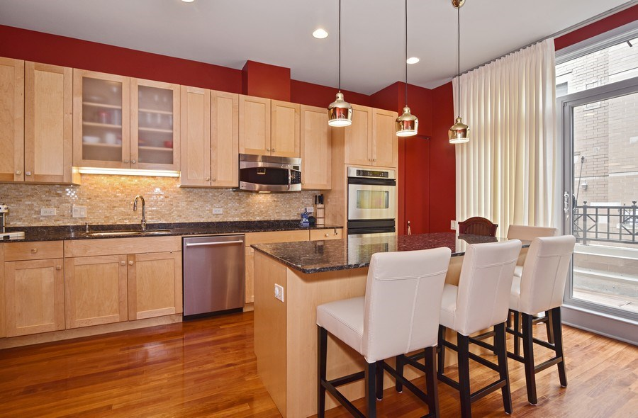 Real Estate Photography - 1816 S Indiana, Unit F, Chicago, IL, 60616 - Kitchen