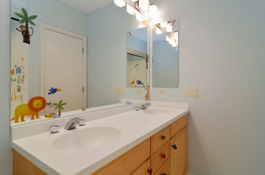 Real Estate Photography - 1816 S Indiana, Unit F, Chicago, IL, 60616 - Bathroom for 3rd & 4th Bedrooms