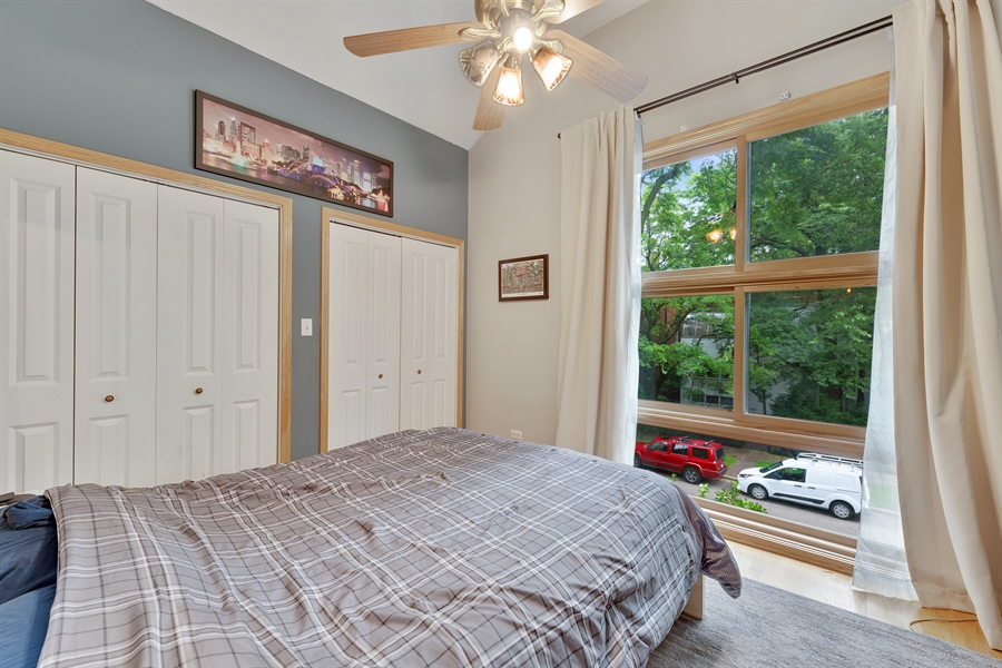Real Estate Photography - 2218 N Magnolia, unit TI, Chicago, IL, 60614 - 3rd Bedroom