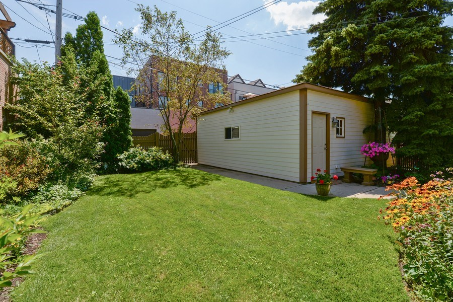 Real Estate Photography - 2017 W. Walton, Chicago, IL, 60622 - Garage