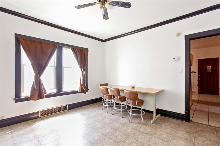 Real Estate Photography - 124 N 17th Ave, Melrose Park, IL, 60160 - Dining Room