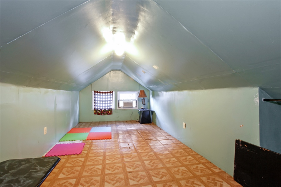 Real Estate Photography - 124 N 17th Ave, Melrose Park, IL, 60160 - Attic