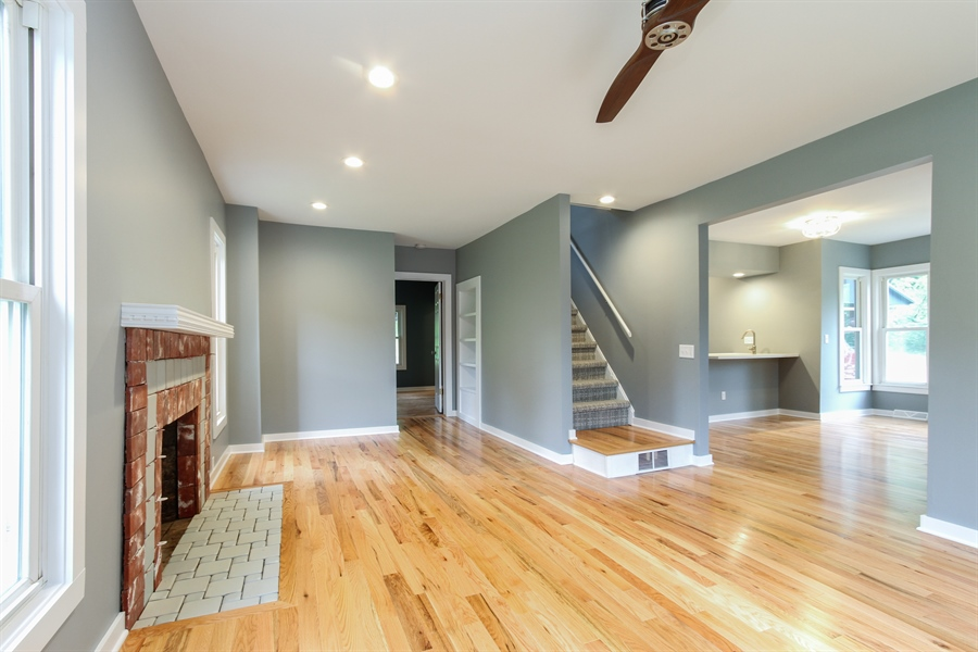 Real Estate Photography - 176 W Main St, Fontana, WI, 53125 - Living Room / Dining Room