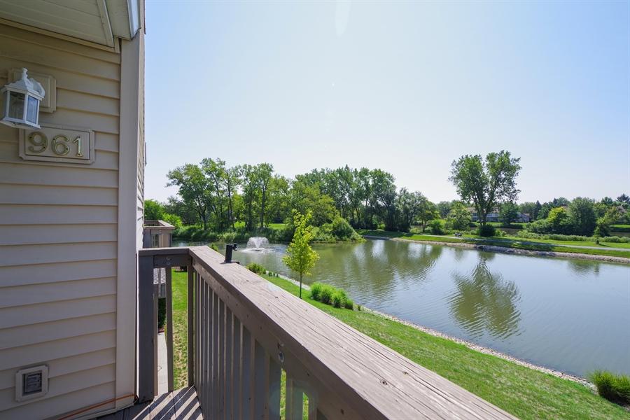 Real Estate Photography - 961 Pinetree Circle S, Buffalo Grove, IL, 60089 - Balcony