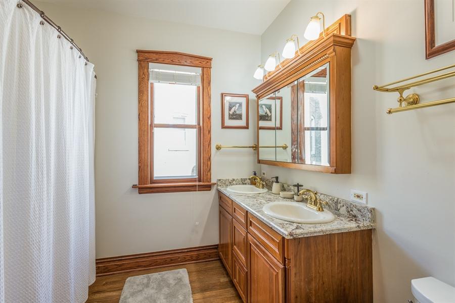 Real Estate Photography - 3833 N Ridgeway Ave, Chicago, IL, 60618 - 3rd Bathroom