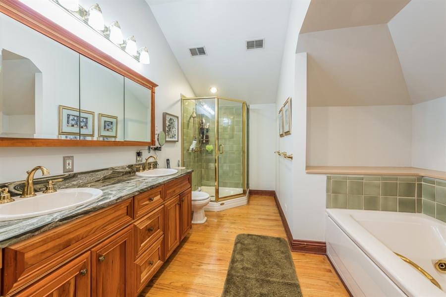 Real Estate Photography - 3833 N Ridgeway Ave, Chicago, IL, 60618 - Master Bathroom