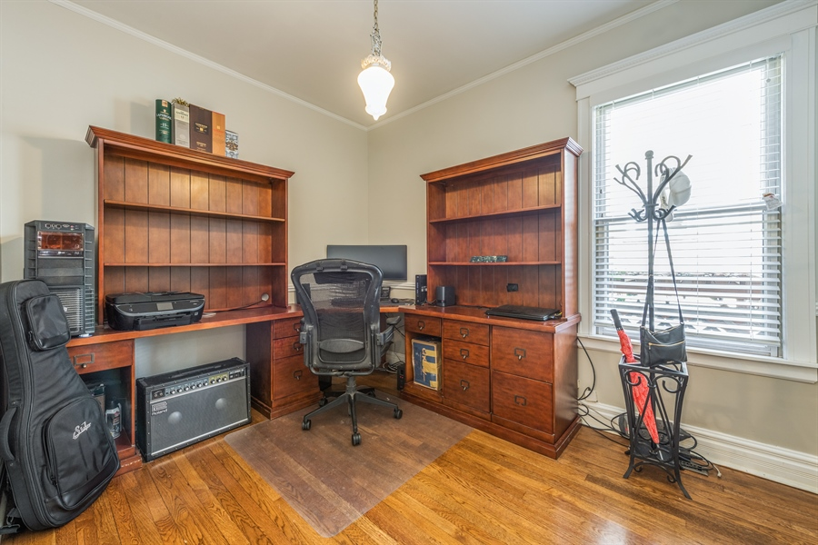 Real Estate Photography - 3833 N Ridgeway Ave, Chicago, IL, 60618 - 3rd Bedroom