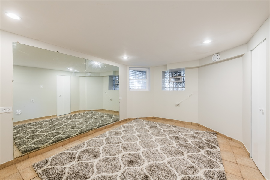 Real Estate Photography - 3833 N Ridgeway Ave, Chicago, IL, 60618 - Lower Level