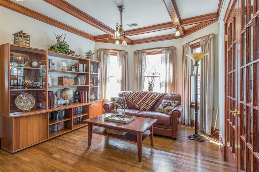 Real Estate Photography - 3833 N Ridgeway Ave, Chicago, IL, 60618 - Sitting Room