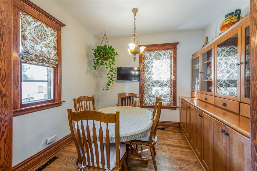 Real Estate Photography - 3833 N Ridgeway Ave, Chicago, IL, 60618 - Breakfast Area