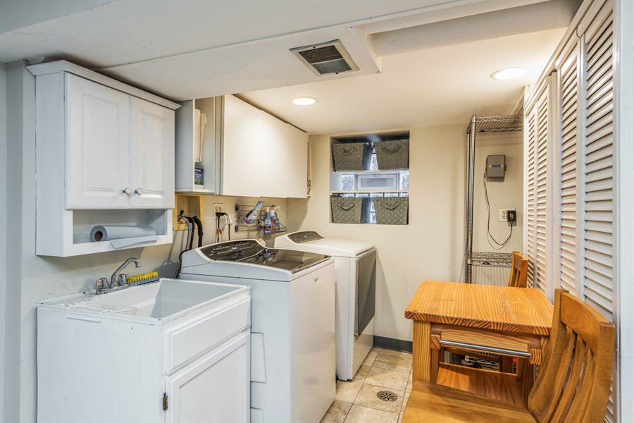Real Estate Photography - 3833 N Ridgeway Ave, Chicago, IL, 60618 - Laundry Room