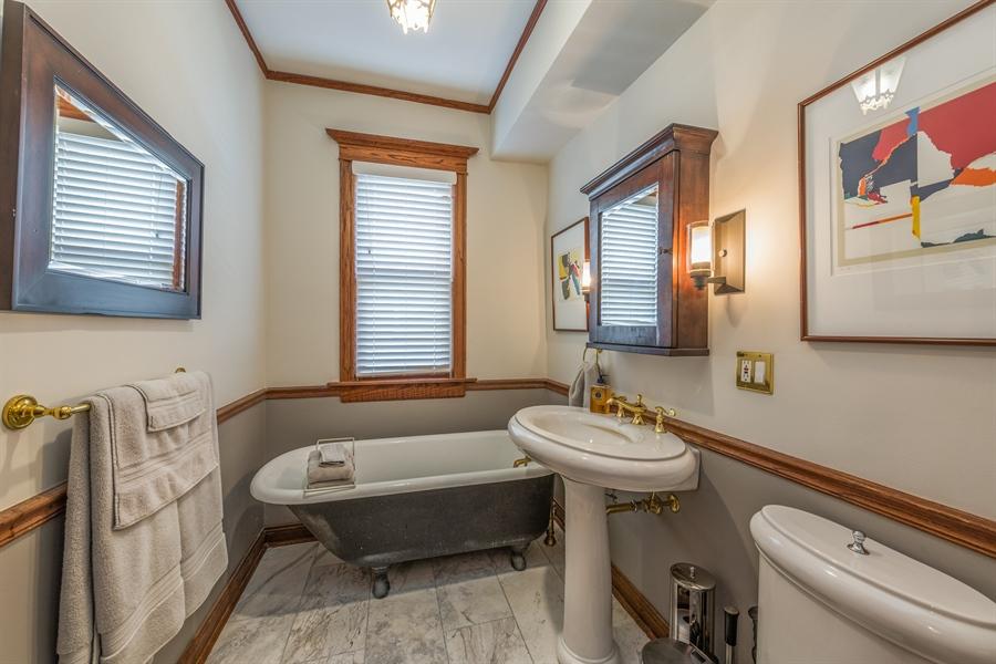 Real Estate Photography - 3833 N Ridgeway Ave, Chicago, IL, 60618 - Bathroom