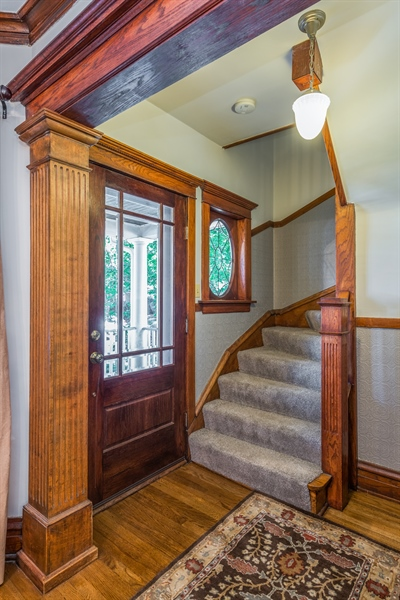 Real Estate Photography - 3833 N Ridgeway Ave, Chicago, IL, 60618 - Entryway