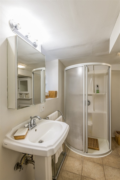 Real Estate Photography - 3833 N Ridgeway Ave, Chicago, IL, 60618 - 2nd Bathroom