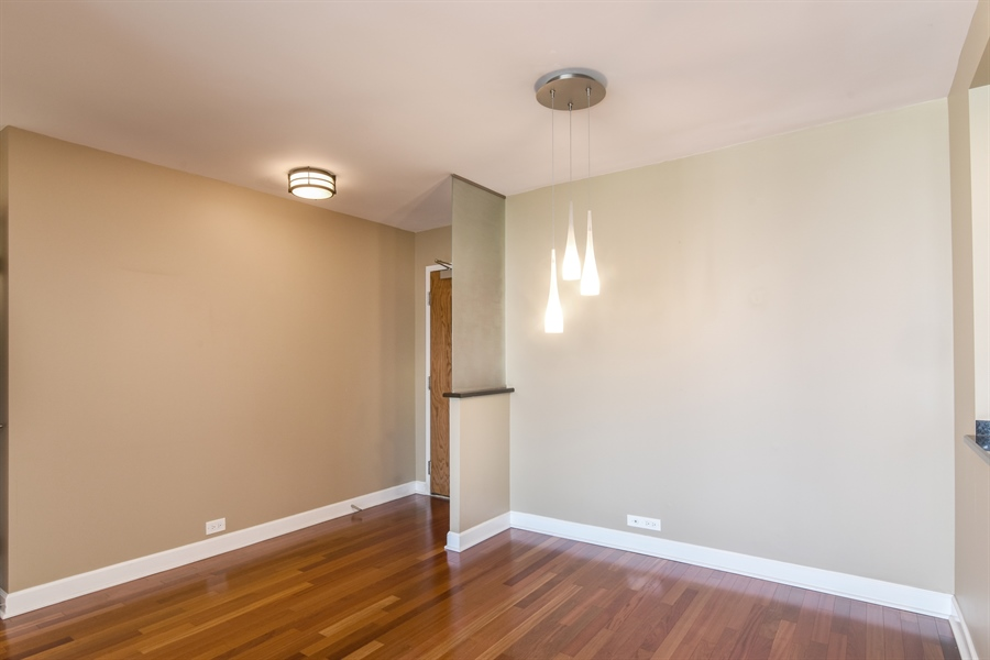 Real Estate Photography - 155 N Harbor Dr, Unit #3102, Chicago, IL, 60601 - Dining Room