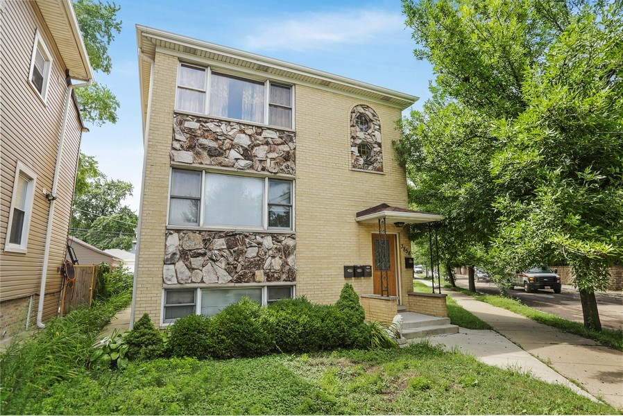 Real Estate Photography - 3854 N Avondale, Chicago, IL, 60618 - Front View