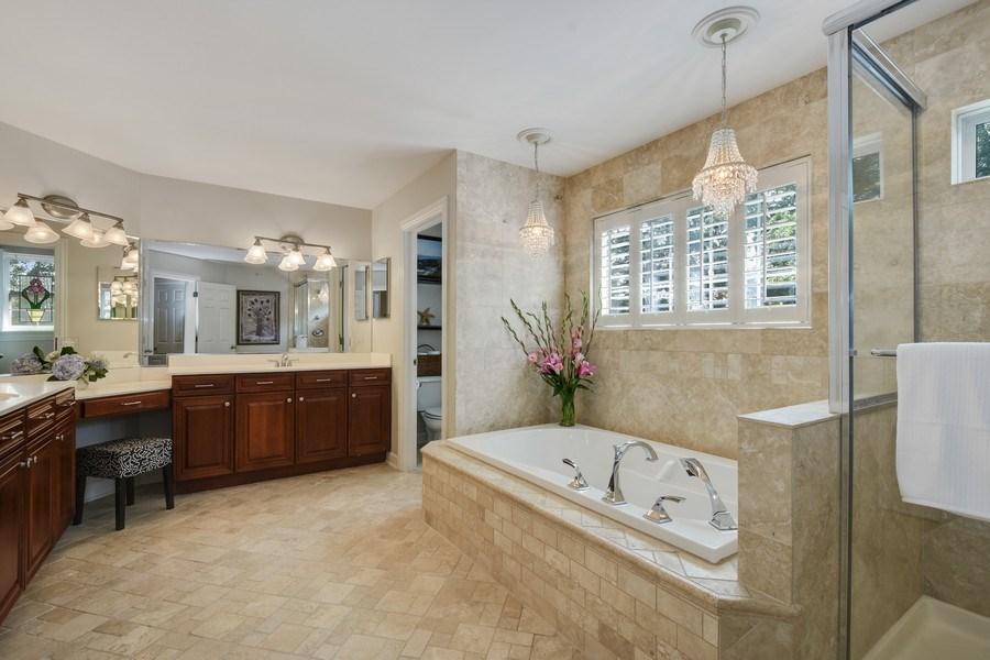 Real Estate Photography - 723 Exmoor Ave, Barrington, IL, 60010 - Master Bathroom