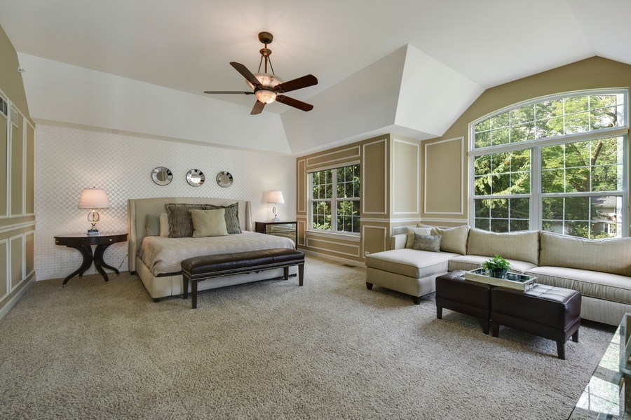 Real Estate Photography - 723 Exmoor Ave, Barrington, IL, 60010 - Master Bedroom