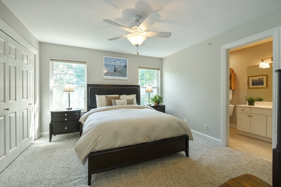 Real Estate Photography - 723 Exmoor Ave, Barrington, IL, 60010 - 3rd Bedroom Ensuite