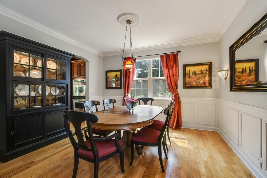 Real Estate Photography - 723 Exmoor Ave, Barrington, IL, 60010 - Dining Room