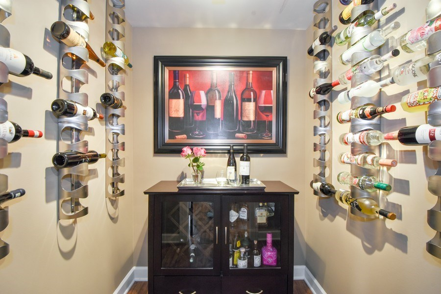 Real Estate Photography - 723 Exmoor Ave, Barrington, IL, 60010 - Wine Closet