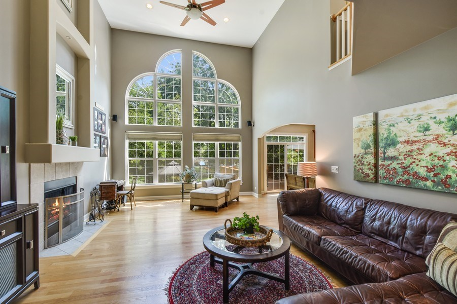 Real Estate Photography - 723 Exmoor Ave, Barrington, IL, 60010 - Family Room