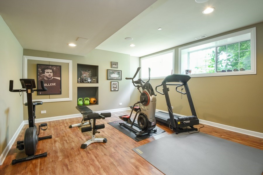Real Estate Photography - 723 Exmoor Ave, Barrington, IL, 60010 - Exercise Room/5th Bedroom