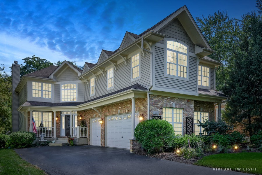 Real Estate Photography - 723 Exmoor Ave, Barrington, IL, 60010 - Front View