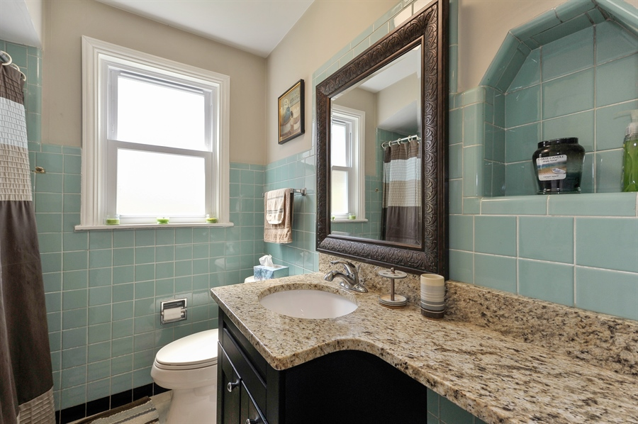 Real Estate Photography - 6108 N Christiana, Chicago, IL, 60659 - Master Bathroom