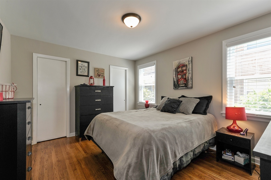 Real Estate Photography - 6108 N Christiana, Chicago, IL, 60659 - Master Bedroom