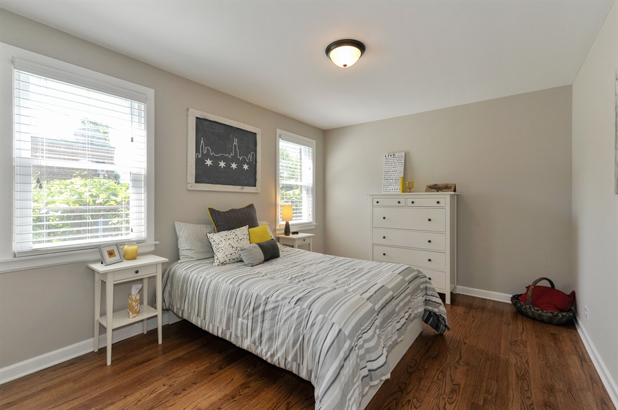 Real Estate Photography - 6108 N Christiana, Chicago, IL, 60659 - 2nd Bedroom