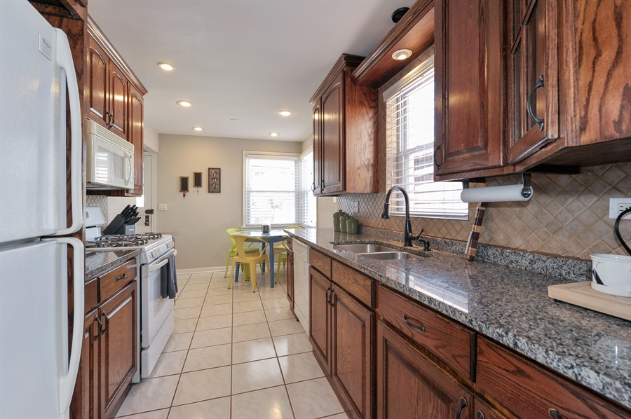 Real Estate Photography - 6108 N Christiana, Chicago, IL, 60659 - Kitchen / Breakfast Room