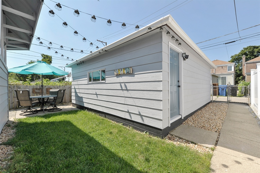 Real Estate Photography - 6108 N Christiana, Chicago, IL, 60659 - Back Yard