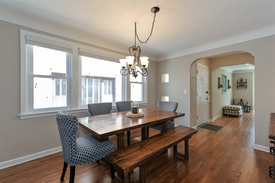Real Estate Photography - 6108 N Christiana, Chicago, IL, 60659 - Dining Room