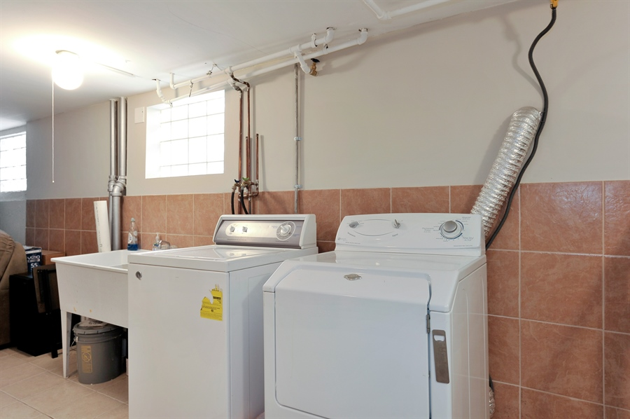 Real Estate Photography - 6108 N Christiana, Chicago, IL, 60659 - Laundry Room