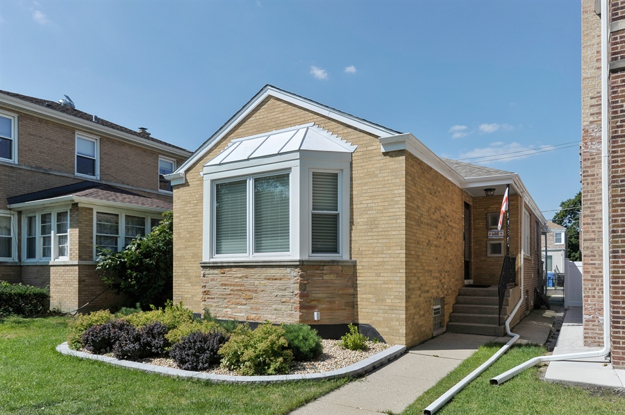 Real Estate Photography - 6108 N Christiana, Chicago, IL, 60659 - Front View