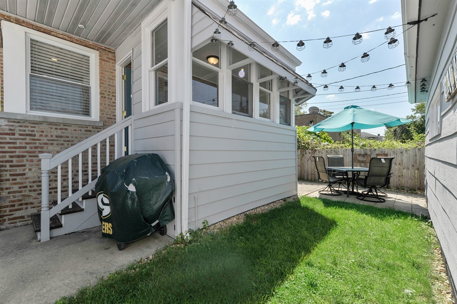 Real Estate Photography - 6108 N Christiana, Chicago, IL, 60659 - Rear View