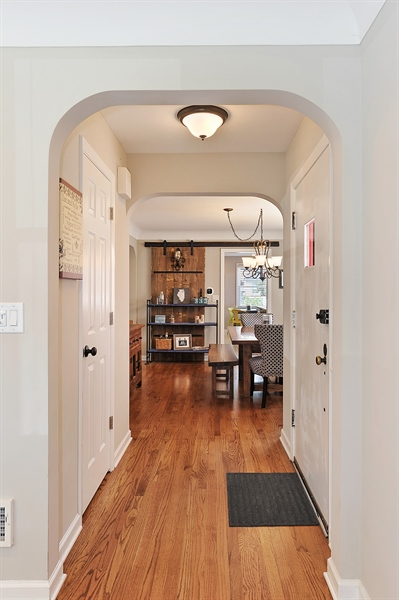 Real Estate Photography - 6108 N Christiana, Chicago, IL, 60659 - Hallway