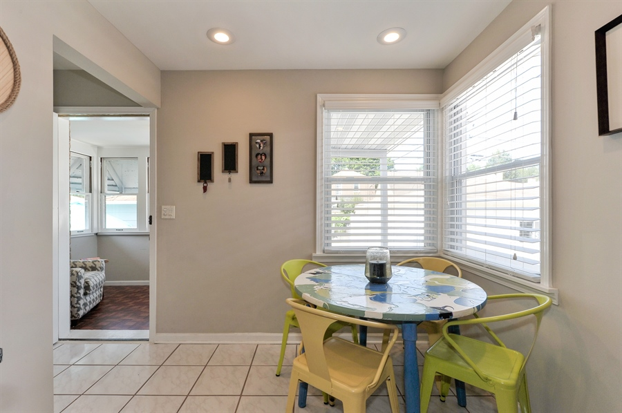 Real Estate Photography - 6108 N Christiana, Chicago, IL, 60659 - Breakfast Nook