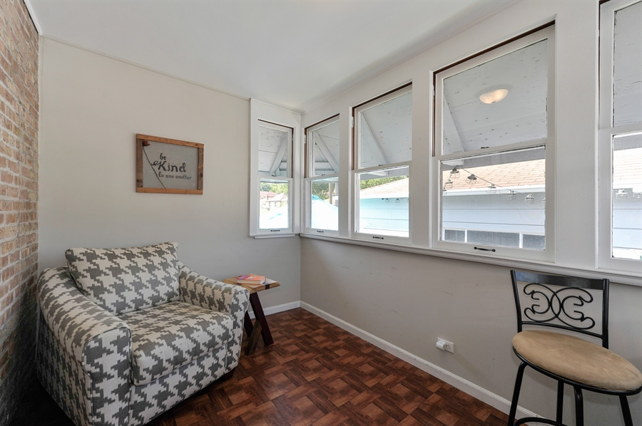 Real Estate Photography - 6108 N Christiana, Chicago, IL, 60659 - Sun Room