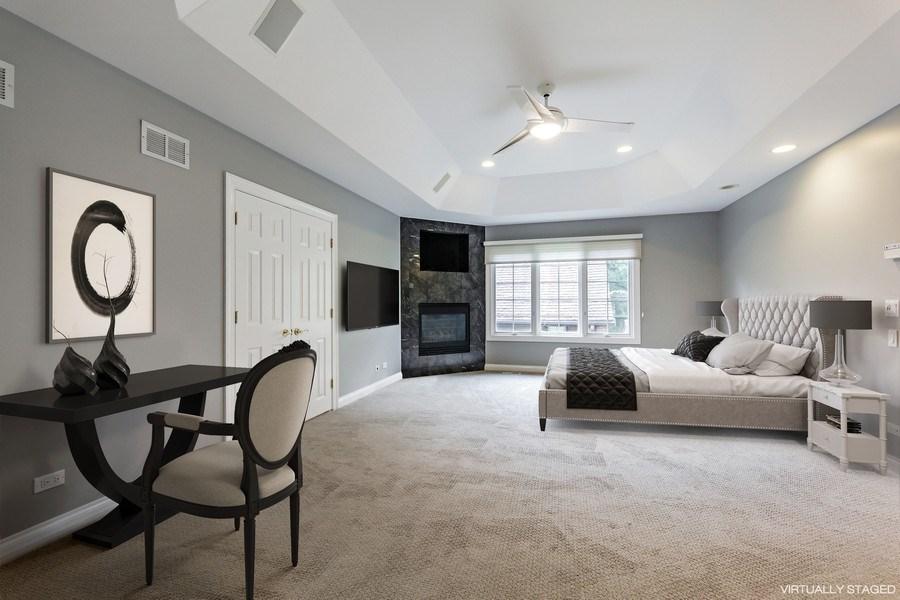 Real Estate Photography - 839 Bob O Link Rd, Highland Park, IL, 60035 - Master Bedroom