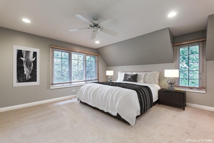Real Estate Photography - 839 Bob O Link Rd, Highland Park, IL, 60035 - 3rd Bedroom