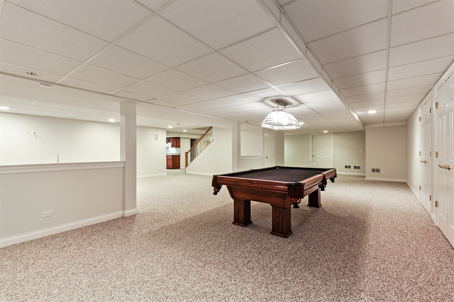 Real Estate Photography - 839 Bob O Link Rd, Highland Park, IL, 60035 - Recreational Room