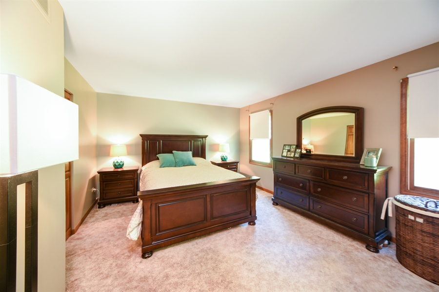 Real Estate Photography - 224 Lexington ave, Fox River Grove, IL, 60021 - Master Bedroom