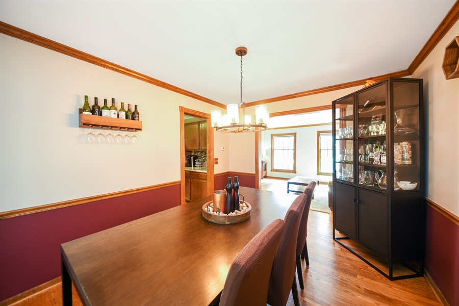 Real Estate Photography - 224 Lexington ave, Fox River Grove, IL, 60021 - Dining Room