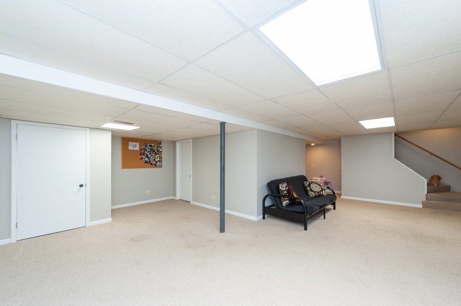 Real Estate Photography - 224 Lexington ave, Fox River Grove, IL, 60021 - Basement