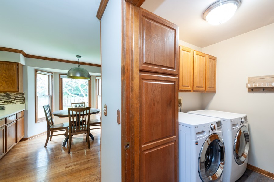 Real Estate Photography - 224 Lexington ave, Fox River Grove, IL, 60021 - Laundry Room