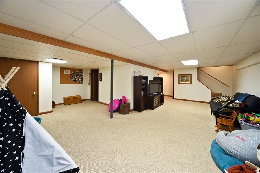 Real Estate Photography - 224 Lexington ave, Fox River Grove, IL, 60021 - Play / Recreational Room