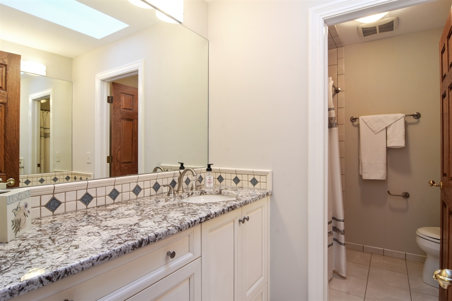 Real Estate Photography - 5443 Forrest Trail, Long Grove, IL, 60047 - 3rd Bathroom